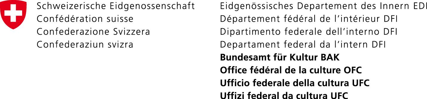 Unsere Buchsponsoren Migros Fuka-Fonds Bundesamt fuer Kultur